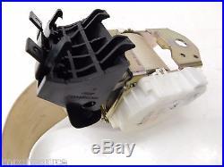 2007-2009 MERCEDES S550 W221 OEM REAR PASSENGER SEAT BELT BUCKLE & RETRACTOR