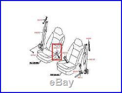 2009-2013 Kia Sorento Front Passenger Seat Belt Buckle Latch 88840 1u500va Oem