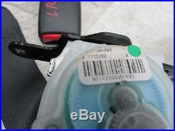 2010 MAXIMA Rear Back Seat Belts Right Left Center Seat Belt Buckle SET