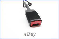 2010 Vw CC Front Right Seat Belt Buckle Black 1k8 857 755 C Oem 09 10 11 12