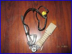 2011-2012 Infiniti OEM QX56 Driver Side Seat Belt Buckle Wheaet #868431LA0B