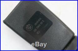 2011 2013 Bmw 535i 550 535 F10 Front Right Side Seat Belt Seatbelt Buckle Oem