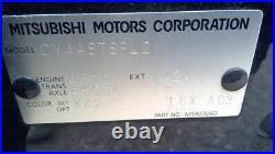2014 14 Mitsubishi Lancer Seat belt buckle for left front driver seat 64989