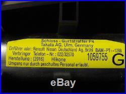 2014 2017 Infiniti Q70 Q70L oem Driver Left SRS Seat Belt Tensioner 868431MA0B