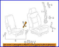 2014-2018 Silverado Sierra Black Drivers Seat Belt Buckle New Gm # 19300830