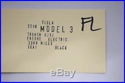 2017 2019 Tesla Model 3 Front Left Side Seat Belt Seatbelt Buckle Oem