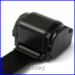 2 Sets Universal Car Truck Safety Seat Belt Buckle 3 Point Automatic Retractable