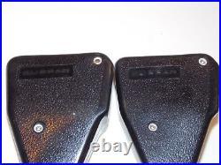 380sl W107 Mercedes-benz Oem Black Klippan Seat Belt Buckles Lh Rh Pair