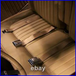 3Pt Sky Blue Retractable Seat Belt Airplane Buckle Each SafTboy STBSB3RASB