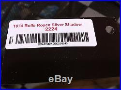 65 80 Rolls Royce Silver Shadow Left Front Seat Belt Buckle