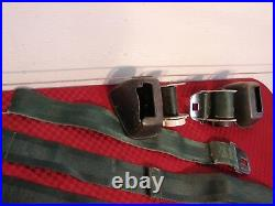 65 Olds Buick Pontiac Hamill Model Rcf-50-h Deluxe Chrome Buckle Seat Belts