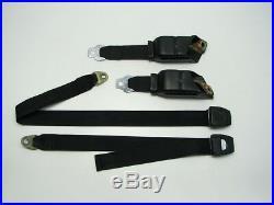 72-80 Dodge D100 D200 Regular Cab Seat Belt Buckle Retractor Set Left Right