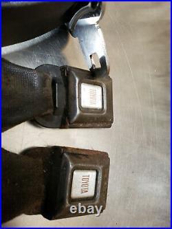 73-78 Toyota Truck Hilux PICKUP Seat Belt Buckle RETRACTOR SET 74 75 76 77 BLACK