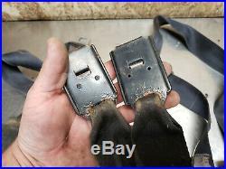 73-78 Toyota Truck Hilux PICKUP Seat Belt Buckle RETRACTOR SET BLACK 74 75 76 77