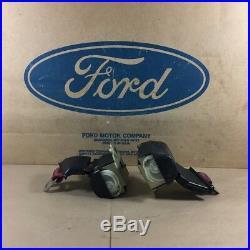 75 76 Tbird Nos Ford D5sz-65618b84-d D5sz-65618b85-d Rh/lh Seat Belt Buckle