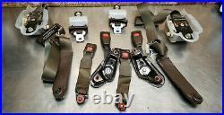 82 83 84 85 Toyota Celica Gts Gt Seat Belt Receiver Buckle Complete Brown Tan