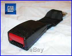82 92 Camaro Firebird Black Rear Seat Belt Buckle Nos New