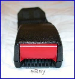 82-92 Camaro Firebird Black Rear Seat Belt Buckle NOS NEW GM 436