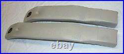82-92 Camaro Firebird Light Sand Gray Front Seat Belt Buckles NEW GM PAIR 408409
