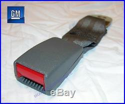 82-92 Camaro Firebird Medium Gray Rear Seat Belt Buckle NOS NEW GM 439