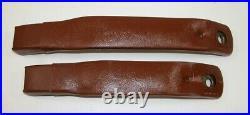 82-92 Camaro Firebird Russet Copper Front Seat Belt Buckles NEW GM PAIR 419/418