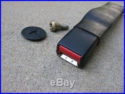 85 92 Camaro Firebird Front Seat Belt Buckle Latch Driver Lh Black Seatbelt Oem