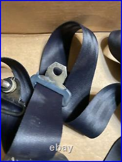 86 Subaru Brat Seat Belt Set Blue OEM