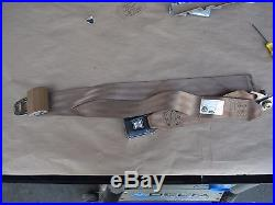 87-91 Ford F-150 250 350 Extended Cab Rear Bench Center Seat Belt & LH Buckle OE