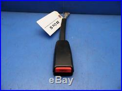 88-89 Honda Crx OEM front seat belt buckle receiver receptacle latch black
