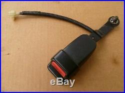 88-91 Honda Crx OEM driver seat belt buckle receiver latch x1 black 90-91 89