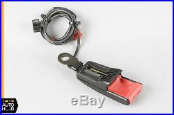 90-02 Mercedes R129 300SL SL500 Right Passenger Seat Belt Seatbelt Buckle Black
