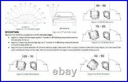 90-90 In Pillar Stalk Buckles Floor Mounted 300mm Right Hand Seat Belt