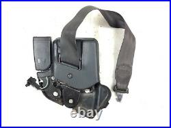 90-93 Integra Left Front Driver Shoulder Seat Belt Buckle Set Black Used OEM