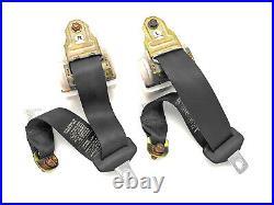 92-00 Lexus SC300 SC400 Soarer OEM JDM Black Rear Seat Belt Retractor Buckle 2JZ