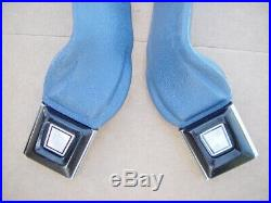 92-96 Ford F-150 250 350 Seat Belt Buckle Receiver Latch Set Bench Seat Nice