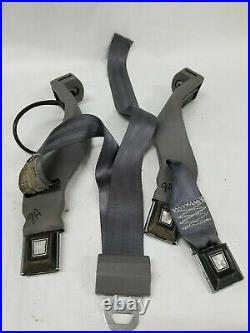 92-97 Ford F150 F250 F350 Bronco Front Driver Passenger Seat Belt Buckle GR9A