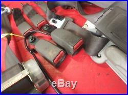 96-00 Honda CIVIC Front Rear Left Right Seat Belt Seatbelts Buckle All Sedan Tan