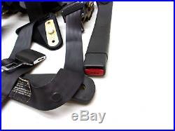 96-02 TRANS AM CAMARO SEAT BELT BUCKLE SEATBELTS COMPLETE SET 98 99 01 ws6
