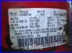 96 JEEP CHEROKEE Left Front Driver Side Seat Belt Buckle latch