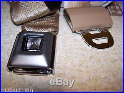97-98 Crown Vic LH Rear Seat Belt Buckle Prairie Tan F7AZ-5460045-AAA OEM New