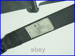 99-02 Toyota 4Runner Front LH Seat Belt Buckle Retractor Gray Left