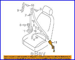 AUDI OEM 2015 A7 Quattro Front Seat Belt-Buckle End 8K0857755K01C