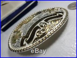 Alabama Champion Saddle Seat Horse Montana Silversmith Trophy Belt Buckle 4h