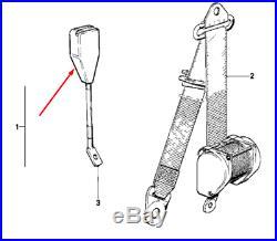 BMW 3 E30 Front Left Seat Belt Buckle 72111941407 1941407 NEW GENUINE