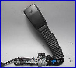 BMW E46 3-Series 6-Series Right Front Lower Pass Seat Belt Buckle w Tensioner OE