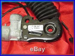 BMW E60 E61 5 series LOWER FRONT LEFT SEAT BELT BUCKLE TENSIONER AIRBAG 7065847