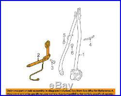 BMW OEM 06-10 550i Front Seat Belt-Buckle End Right 72117210888