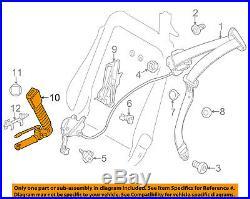 BMW OEM 08-13 328i Front Seat Belt-Buckle End Left 72119177771