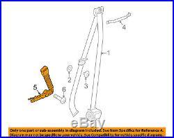 BMW OEM 11-16 535i Front Seat Belt-Buckle End Left 72119115305