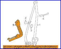 BMW OEM 13-15 ActiveHybrid 7 Front Seat Belt-Buckle End Left 72117328841